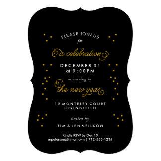 Invitaciones de la celebración de días festivos anuncio personalizado