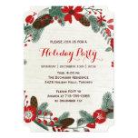 Invitaciones de la celebración de días festivos comunicado