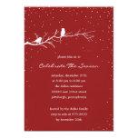 Invitaciones de la celebración de días festivos de invitacion personal