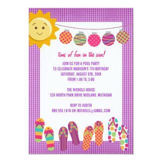 Invitaciones de la celebración del cumpleaños de invitación 12,7 x 17,8 cm