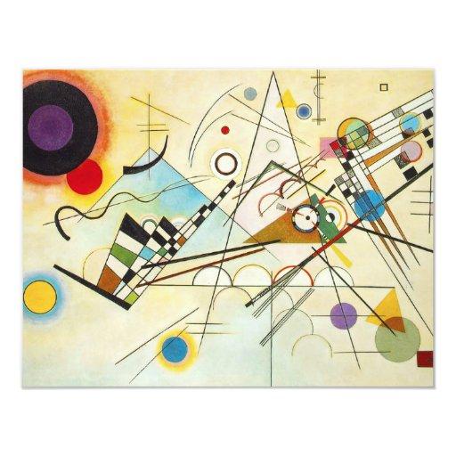 Invitaciones de la composición VIII de Kandinsky Invitación