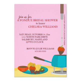 Invitaciones de la ducha o fiesta nupciales de la invitacion personal