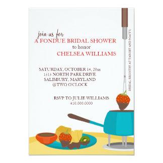 Invitaciones de la ducha o fiesta nupciales de la invitacion personalizada