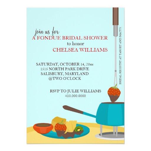 Invitaciones de la ducha o fiesta nupciales de la  comunicados