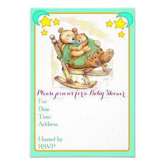 Invitaciones de la fiesta de bienvenida al bebé invitación 8,9 x 12,7 cm