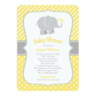 Invitaciones de la fiesta de bienvenida al bebé invitación 12,7 x 17,8 cm