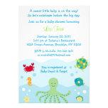 Invitaciones de la fiesta de bienvenida al bebé de invitaciones personalizada