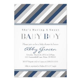 Invitaciones de la fiesta de bienvenida al bebé de comunicados