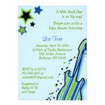 Invitaciones de la fiesta de bienvenida al bebé de anuncio personalizado