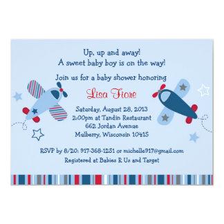 """Invitaciones de la fiesta de bienvenida al bebé invitación 4.5"""" x 6.25"""""""