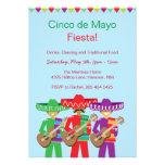 Invitaciones de la fiesta de Cinco de Mayo