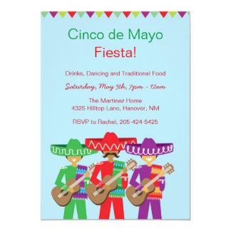 Invitaciones de la fiesta de Cinco de Mayo Invitaciones Personalizada