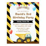 Invitaciones de la fiesta de cumpleaños de la comunicado personalizado