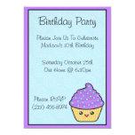 Invitaciones de la fiesta de cumpleaños de la anuncios personalizados