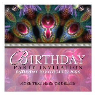 Invitaciones de la fiesta de cumpleaños de la bell comunicado