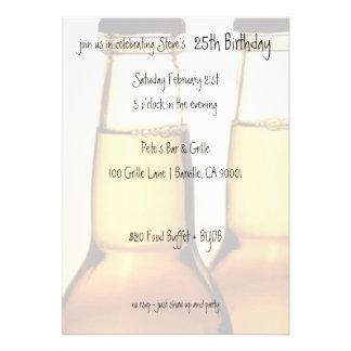 Invitaciones de la fiesta de cumpleaños de la bote