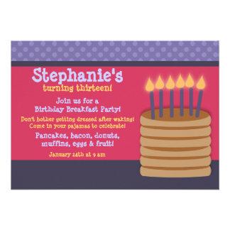 Invitaciones de la fiesta de cumpleaños de la comi comunicados