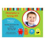 Invitaciones de la fiesta de cumpleaños de la foto invitaciones personales