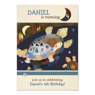 """Invitaciones de la fiesta de cumpleaños de la invitación 5"""" x 7"""""""