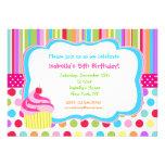Invitaciones de la fiesta de cumpleaños de la magd comunicado personalizado