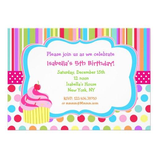 Invitaciones de la fiesta de cumpleaños de la magd invitación personalizada