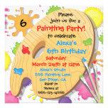 Invitaciones de la fiesta de cumpleaños de la pint invitación personalizada
