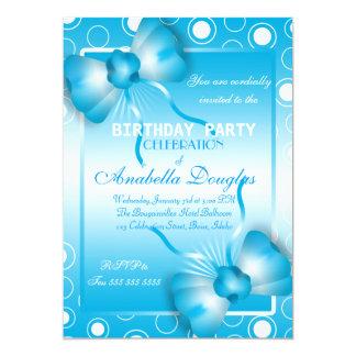 """Invitaciones de la fiesta de cumpleaños de las invitación 5"""" x 7"""""""