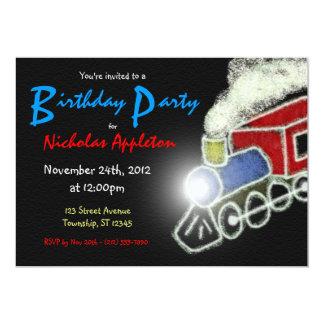 Invitaciones de la fiesta de cumpleaños de los invitación personalizada