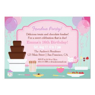 """Invitaciones de la fiesta de cumpleaños de los invitación 4.5"""" x 6.25"""""""