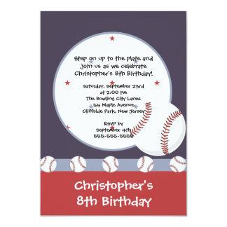 Invitaciones de la fiesta de cumpleaños de los invitación 12,7 x 17,8 cm