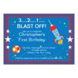 Invitaciones de la fiesta de cumpleaños de Rocket