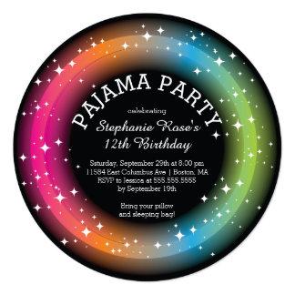 Invitaciones de la fiesta de cumpleaños del anuncio personalizado