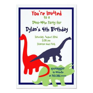 Invitaciones de la fiesta de cumpleaños del invitación