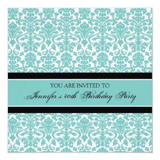 """Invitaciones de la fiesta de cumpleaños del invitación 5.25"""" x 5.25"""""""