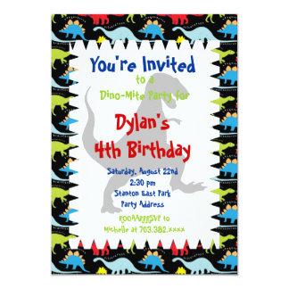 Invitaciones de la fiesta de cumpleaños del comunicado personal