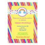 Invitaciones de la fiesta de cumpleaños del arco i comunicados personalizados