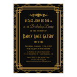 Invitaciones de la fiesta de cumpleaños del art invitaciones personalizada
