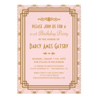 Invitaciones de la fiesta de cumpleaños del art dé