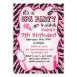 Invitaciones de la fiesta de cumpleaños del balnea anuncio
