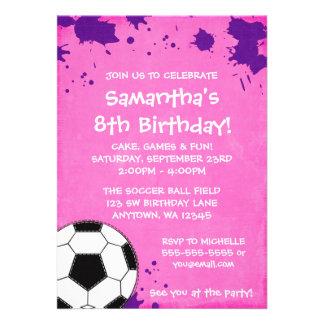 Invitaciones de la fiesta de cumpleaños del balón