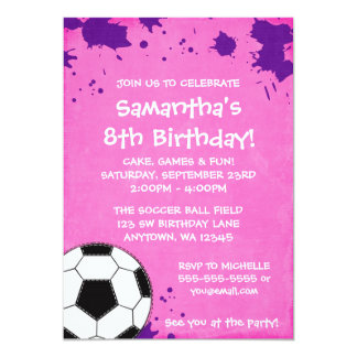 """Invitaciones de la fiesta de cumpleaños del balón invitación 5"""" x 7"""""""