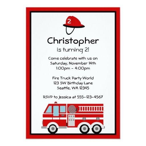 Invitaciones de la fiesta de cumpleaños del coche invitación 12,7 x 17,8 cm