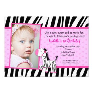 Invitaciones de la fiesta de cumpleaños del estamp comunicado personal