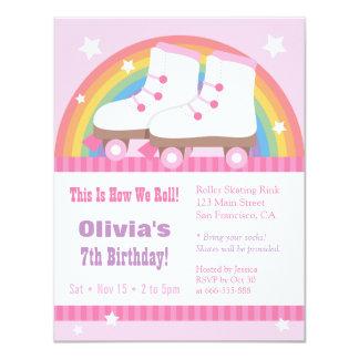 """Invitaciones de la fiesta de cumpleaños del invitación 4.25"""" x 5.5"""""""