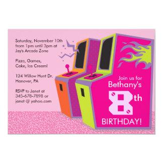 """Invitaciones de la fiesta de cumpleaños del invitación 5"""" x 7"""""""