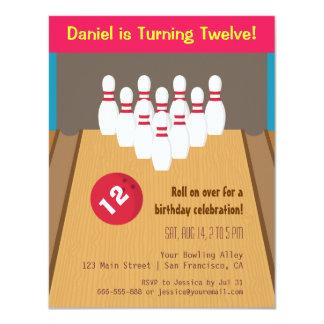 Invitaciones de la fiesta de cumpleaños del juego invitación 10,8 x 13,9 cm