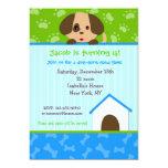 Invitaciones de la fiesta de cumpleaños del perro invitación