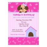 Invitaciones de la fiesta de cumpleaños del perro  anuncio