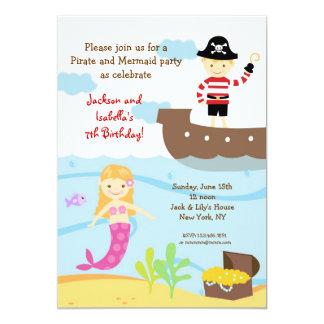 Invitaciones de la fiesta de cumpleaños del pirata comunicado