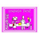 Invitaciones de la fiesta de graduación de la enfe invitación